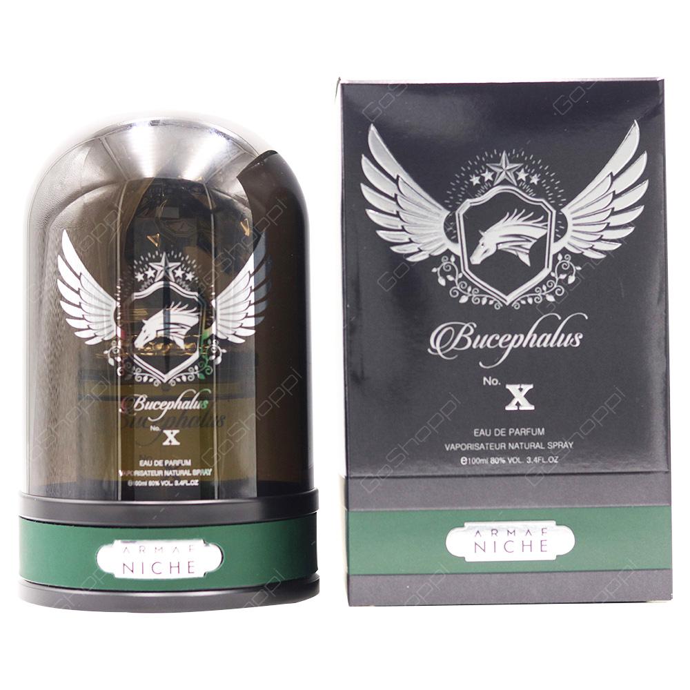 Armaf Bucephalus No X Green Eau De Parfum 100ml