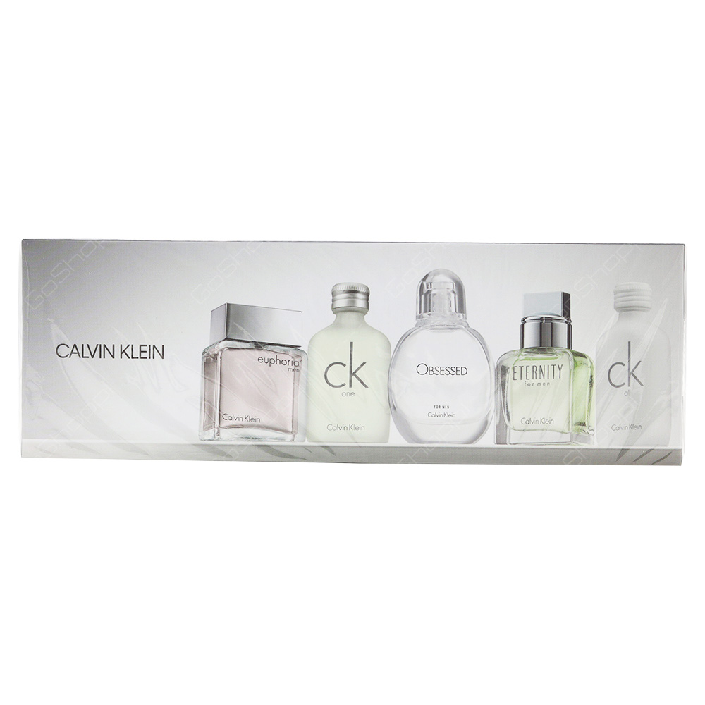 Calvin Klien Mini Gift Set For Men 5pcs