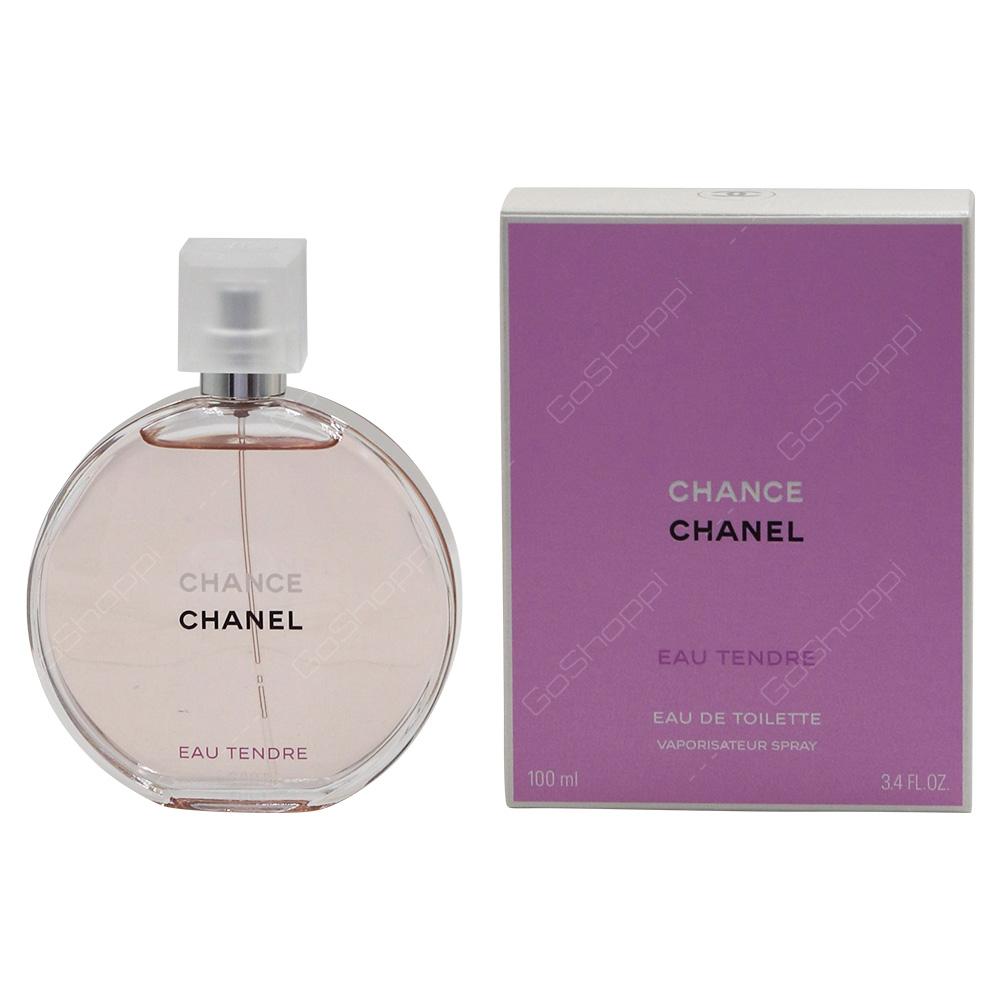 Chanel Chance Eau Tender For Women Eau De Toilette 100ml