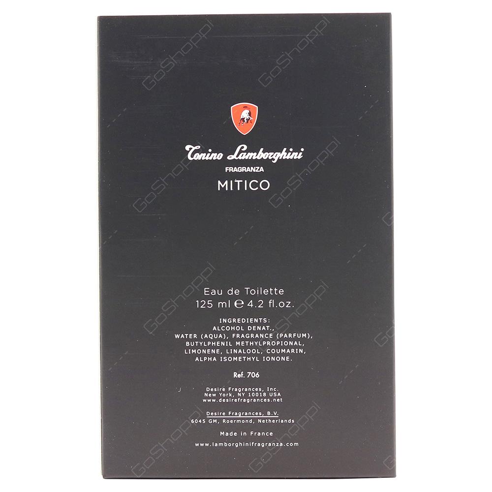 Conino Lamborghini Conino Lamborghini Mitico For Men Eau De Toilette 125ml