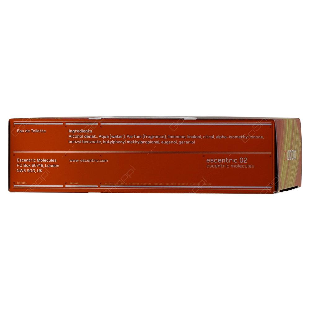 Essentric Molecules Essentric 020 For Men Eau De Toilette 100ml