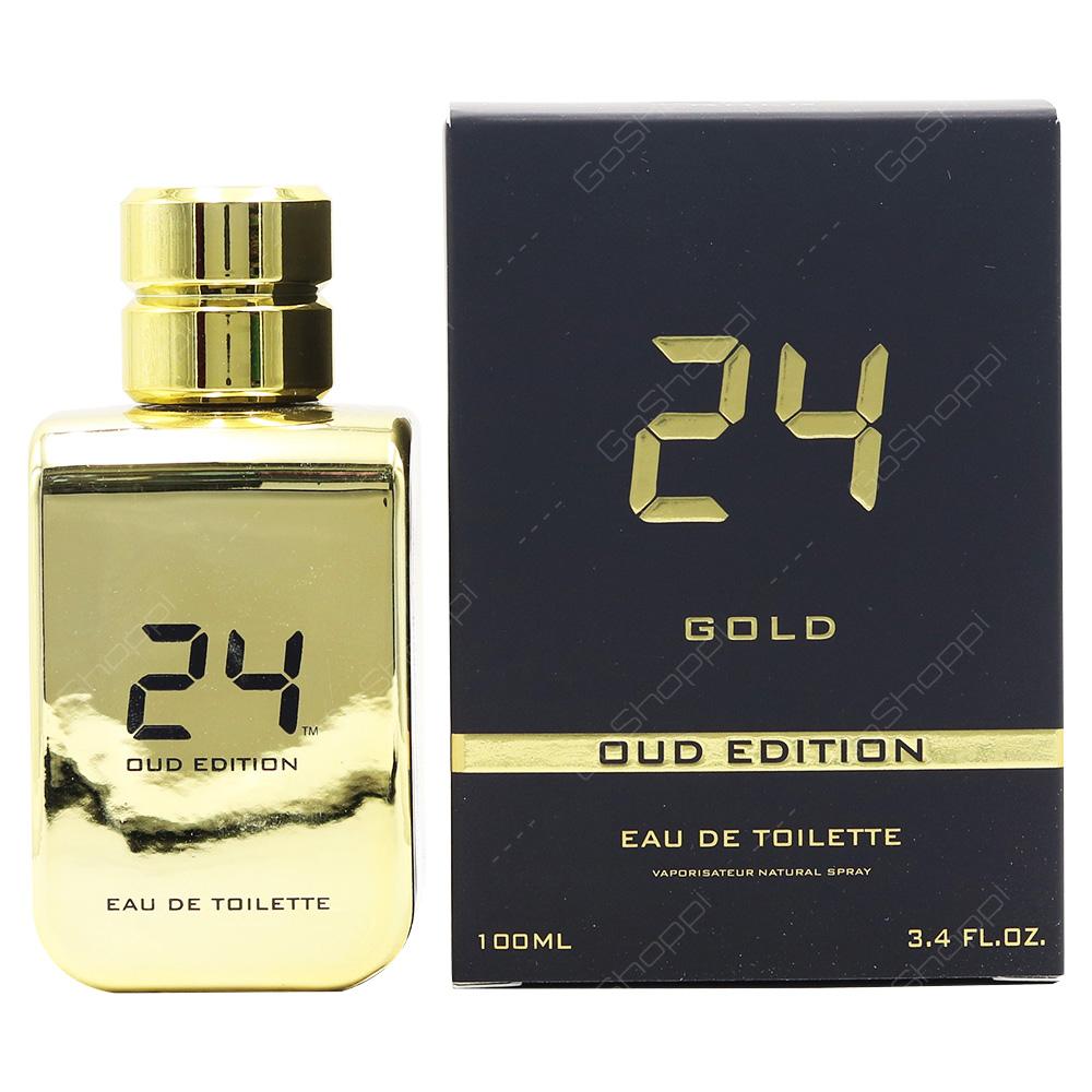 Fox 24 Gold Oud Edition Eau De Parfum 100ml