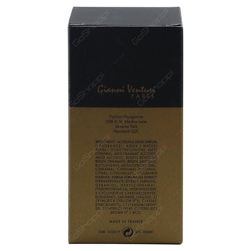Gianni Venturi Gold Shade Pour Homme Eau De Parfum 100ml