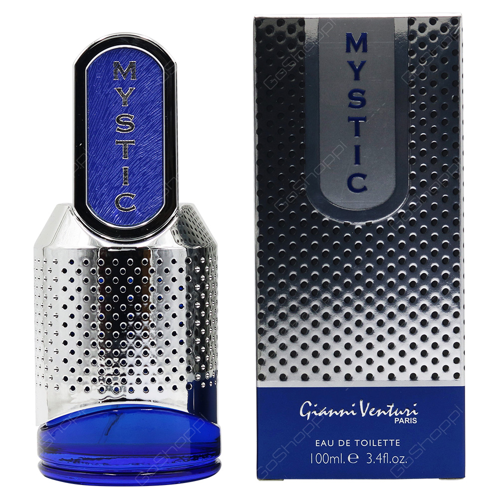 Gianni Venturi Mystic Blue For Men Eau De Toilette 100ml