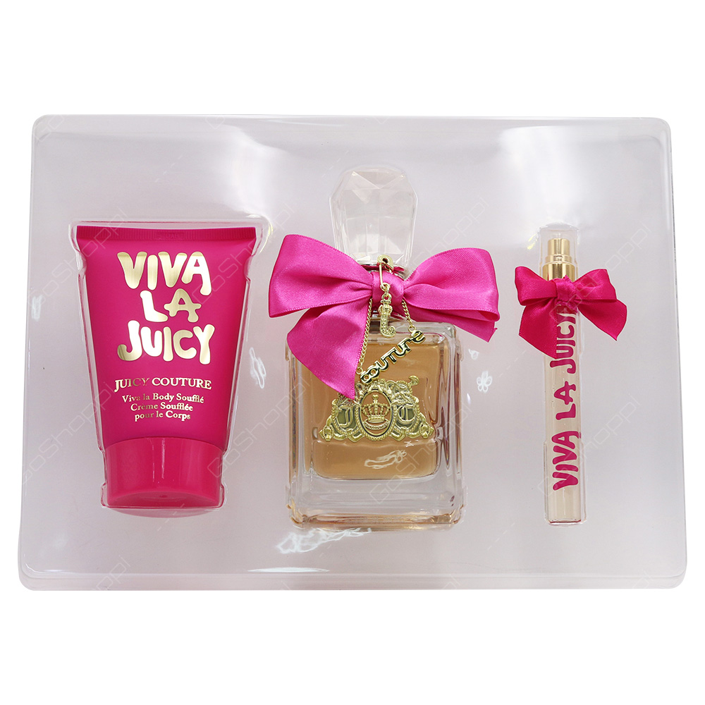 Juicy Couture Viva La Juicy Gift Set For Women 3pcs