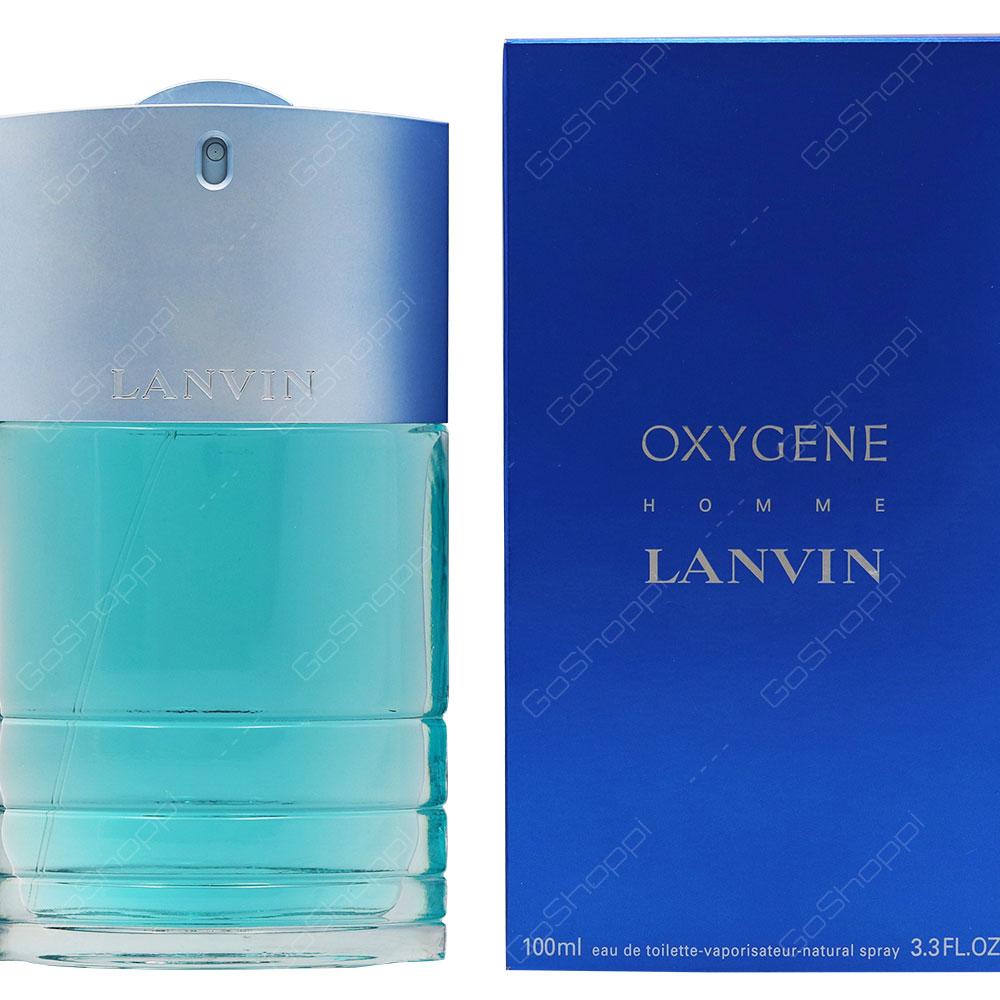 Lanvin Oxygene Homme Eau De Toilette 100ml
