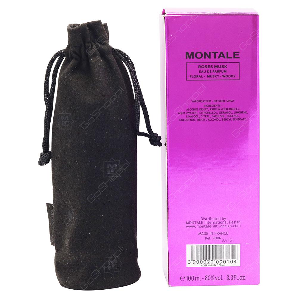 Montale Roses Musk Eau De Parfum 100ml