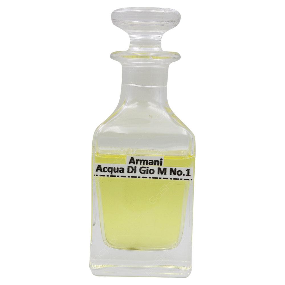 Oil Based - Armani Acqua Di Gio For Men No 1 For Men Spray