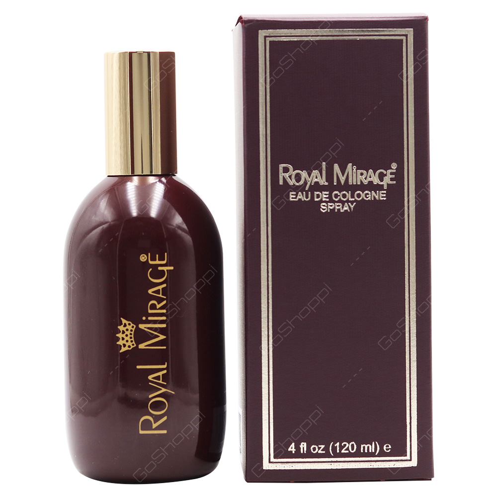 Royal Mirage Eau De Cologne Spray 120ml