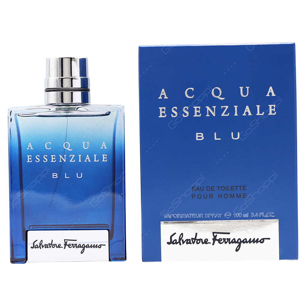Salvatore Ferragamo Acqua Essenziale Blue For Men Eau De Toilette 100ml