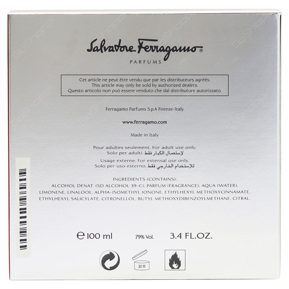 Salvatore Ferragamo F By Ferragamo For Men Eau De Toilette 100ml