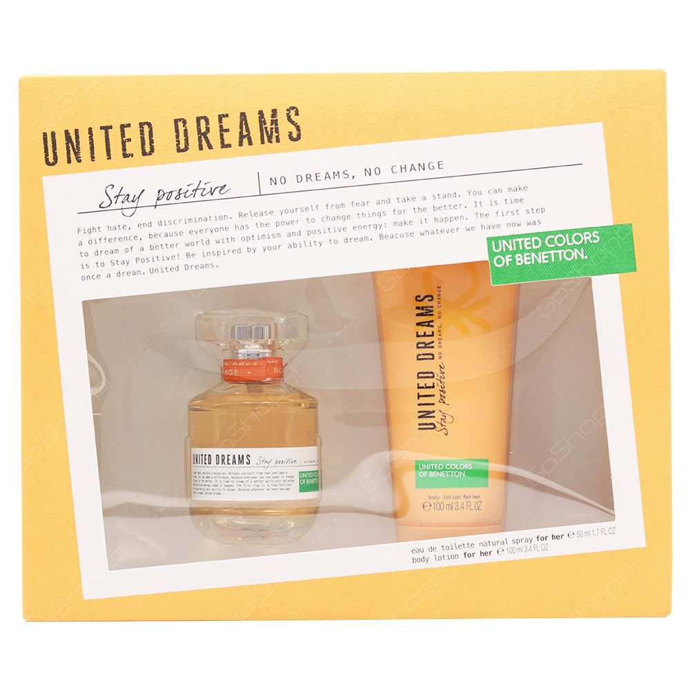 United Colors Of Benetton Gift Set For Women 2pcs
