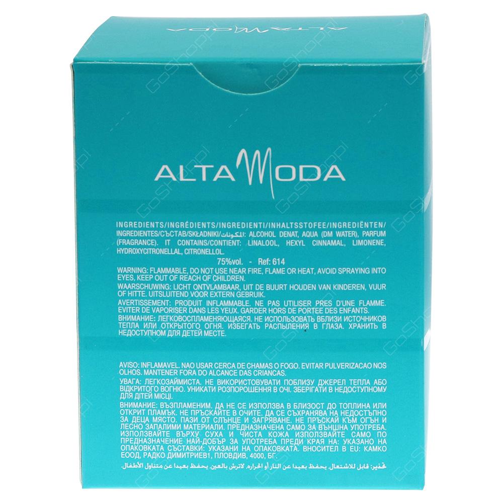 Alta Moda Real Pour Femme Eau De Parfum 100ml