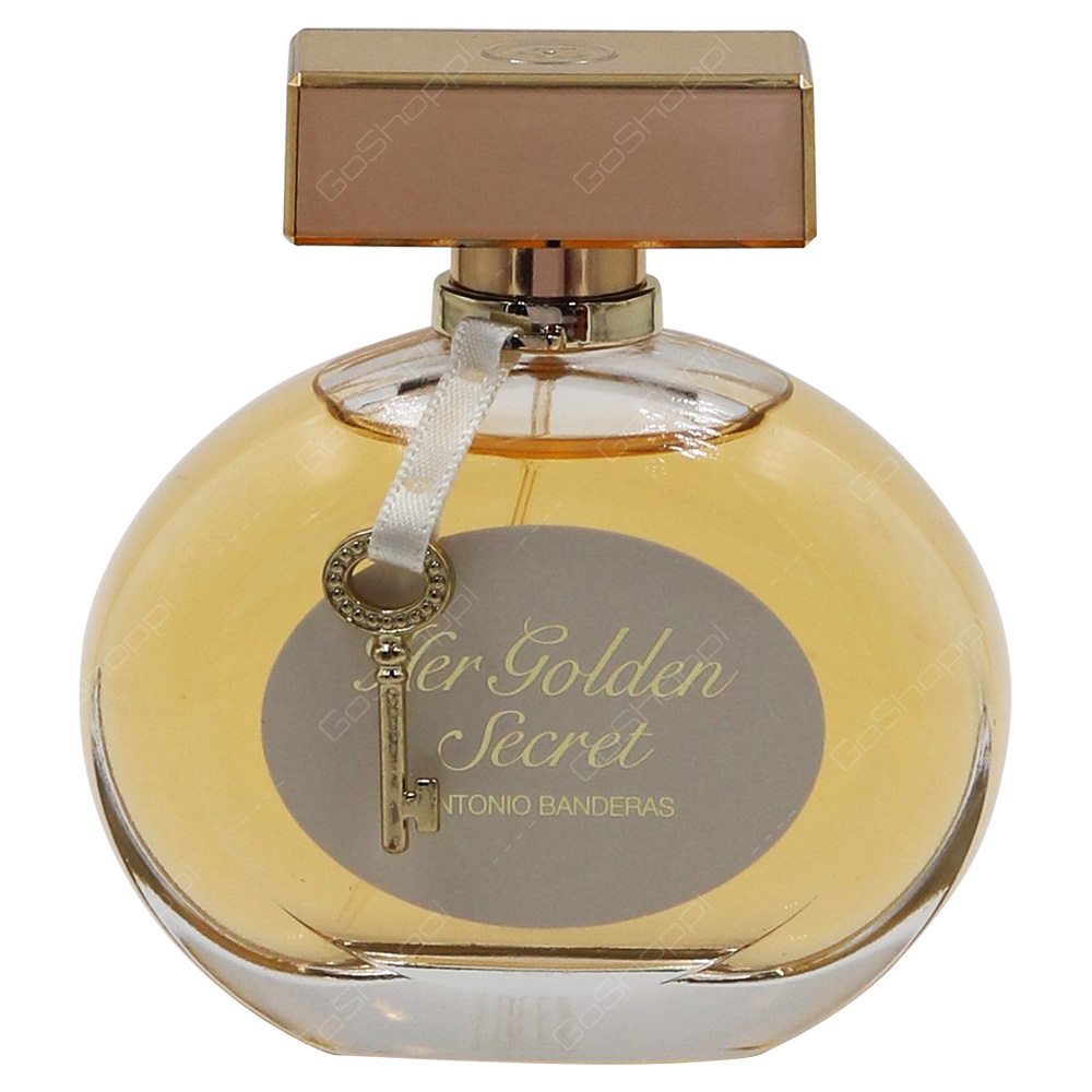 Antonio Banderas Her Golden Secret For Her Eau De Toilette 80ml