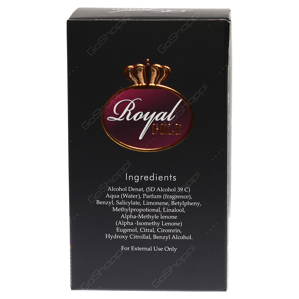 Arabian Royal Gold For Men Eau De Parfum 100ml