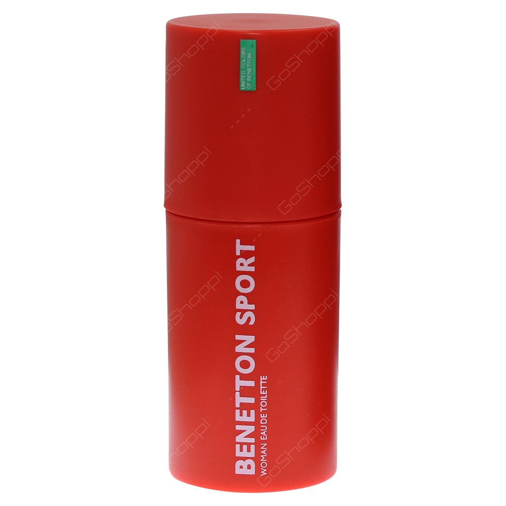 Benetton Sport Woman Eau De Toilette 100ml
