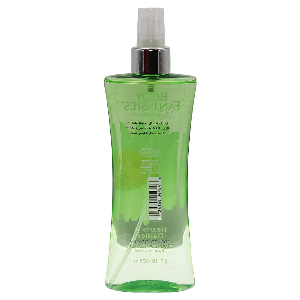 Body Fantasies Signature Fragrance Body Spray - Hearts And Daisies 236ml