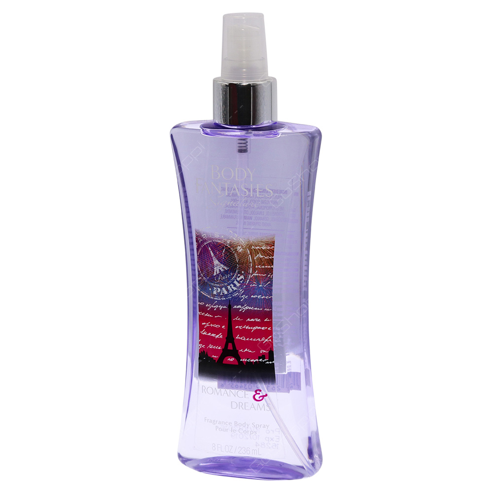 Body Fantasies Signature Fragrance Body Spray - Romance And Dreams 236ml