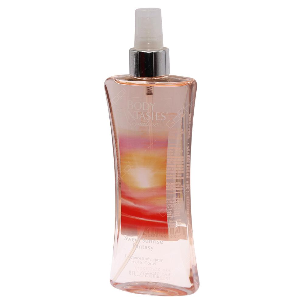 Body Fantasies Signature Fragrance Body Spray - Sweet Sunrise Fantasy 236ml