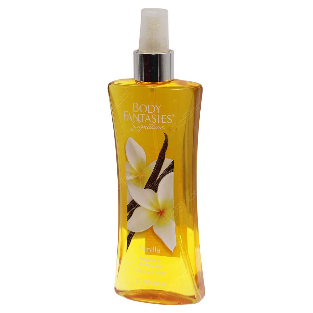 Body Fantasies Signature Fragrance Body Spray - Vanilla 236ml
