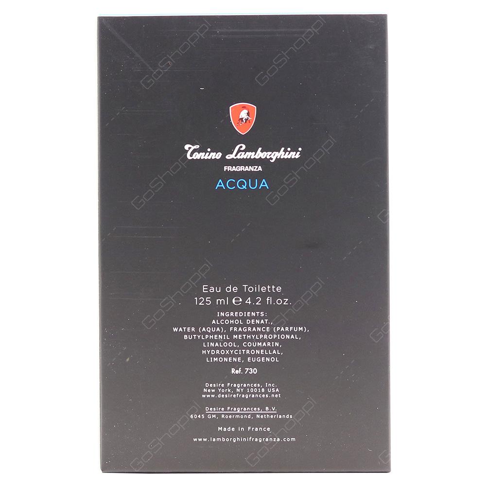 Conino Lamborghini Conino Lamborghini Acqua For Men Eau De Toilette 125ml