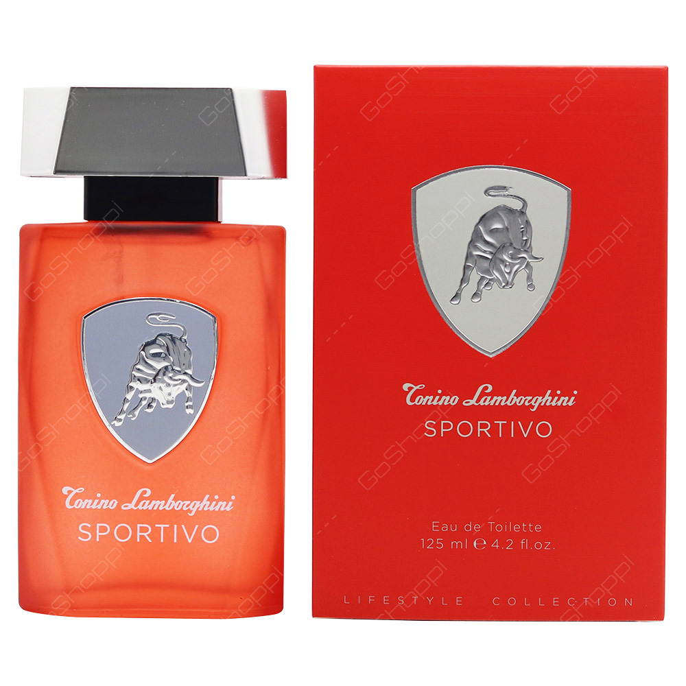 Conino Lamborghini Conino Lamborghini Sportivo For Men Eau De Toilette 125ml