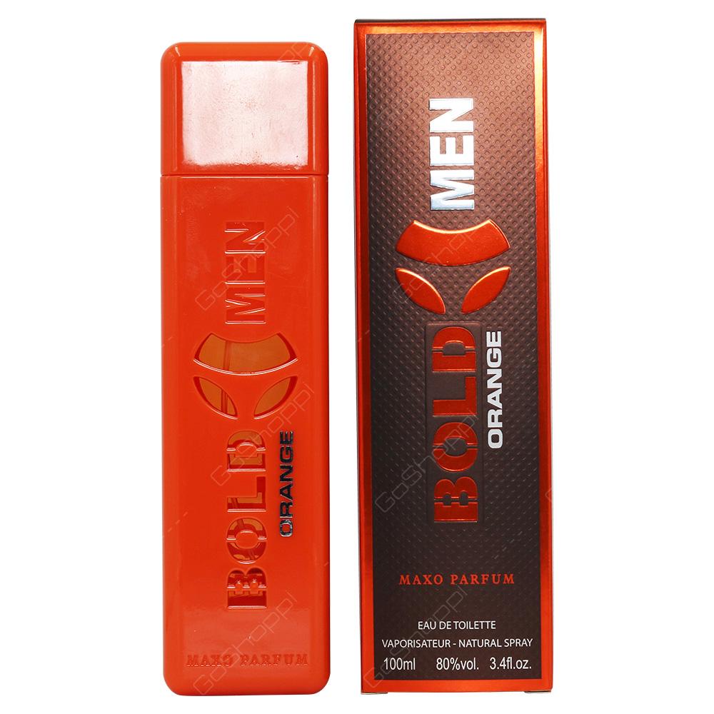 Dumont Bold Men Orange Maxo Parfum Eau De Toilette 100ml
