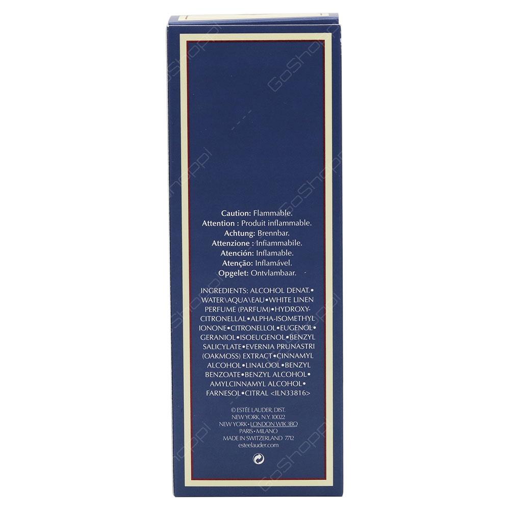 Estee Lauder White Linen For Women Eau De Parfum 60ml