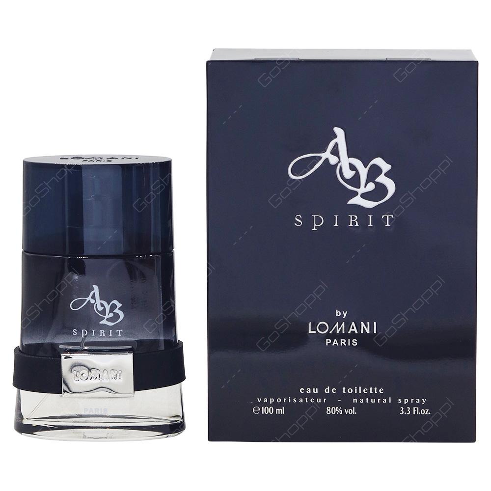 Lomani AB Spirit For Men Eau De Toilette 100ml