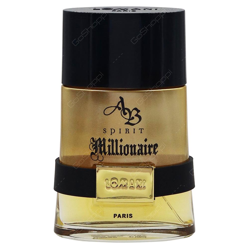 Lomani AB Spirit Millionaire For Men Eau De Toilette 100ml