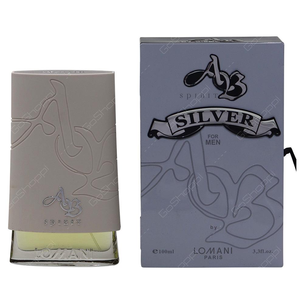 Lomani AB Spirit Silver For Men Eau De Toilette 100ml