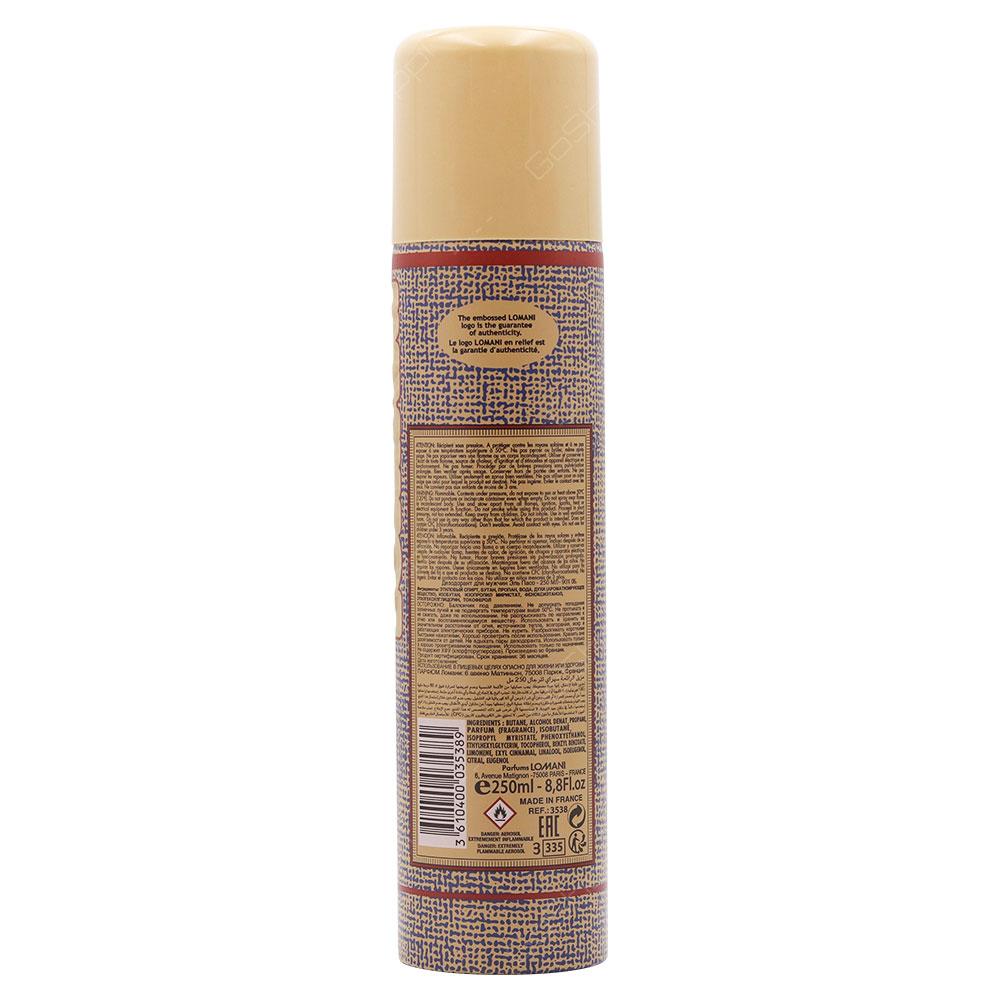 Lomani El Paso Deodorant Body Spray For Men 250ml