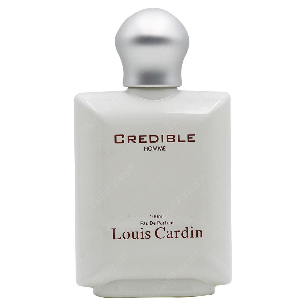 Louis Cardin Louis Cardin Credible Homme Eau De Parfum 100ml