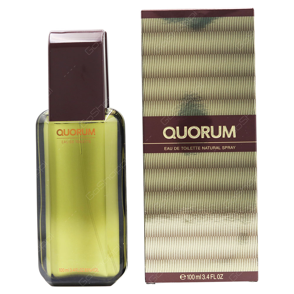Puig Quorum For Men Eau De Toilette 100ml