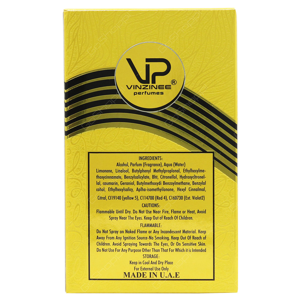 Vinzinee Perfumes Vinzinee Golden Sunset For Women Eau De Parfum 50ml