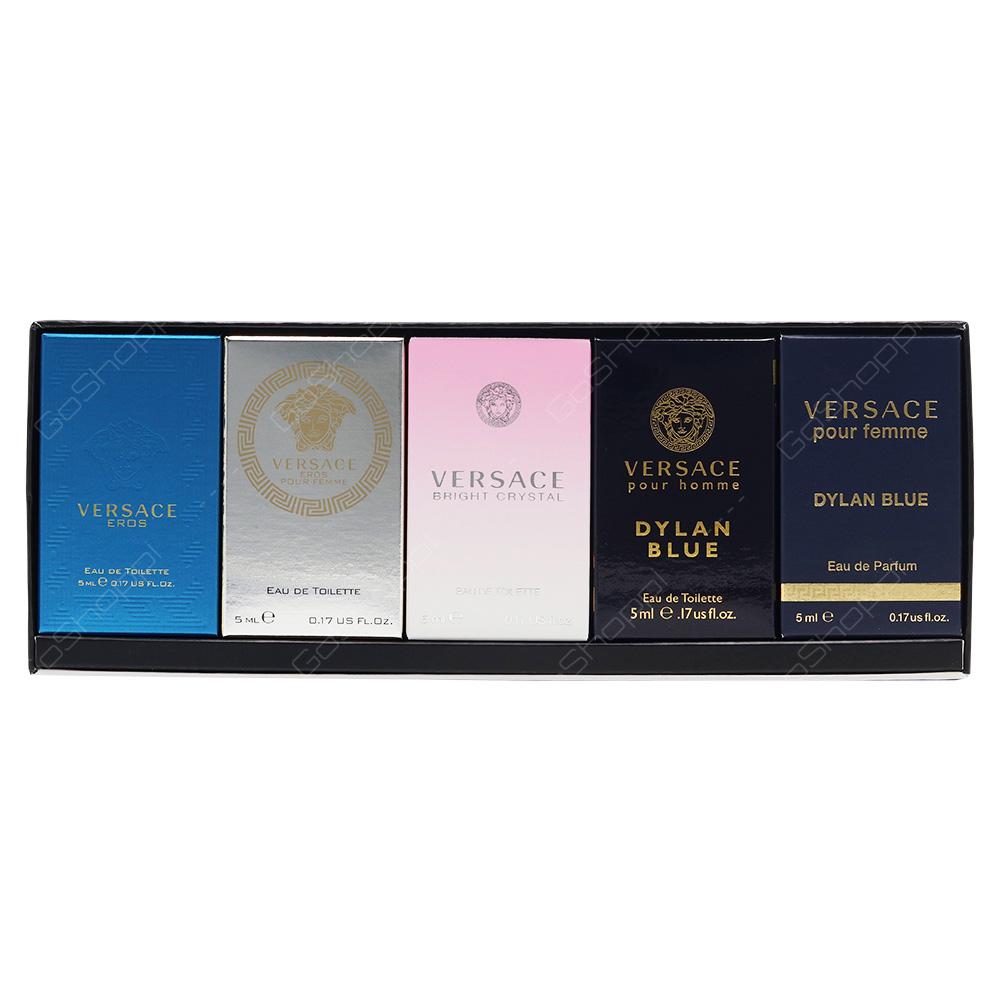 Versace Mini Gift Set 5pcs