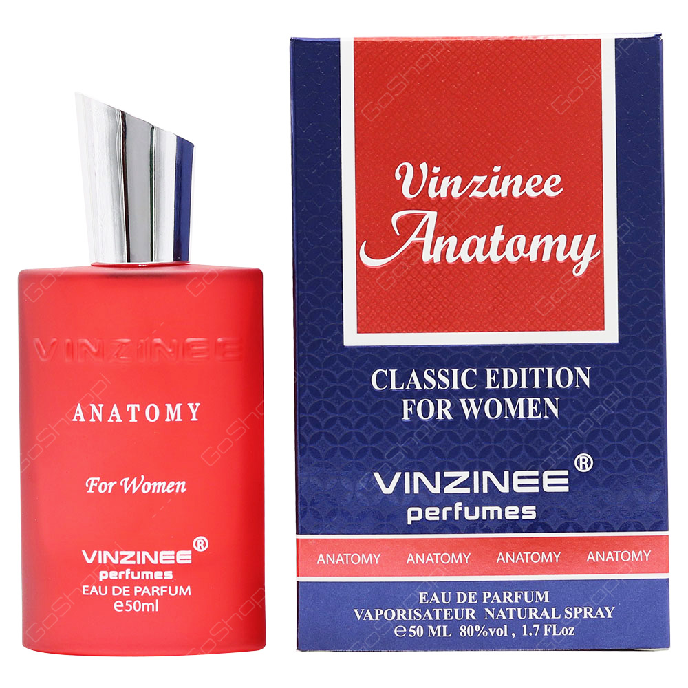 Vinzinee Perfumes Vinzinee Anatomy For Women Eau De Parfum 50ml
