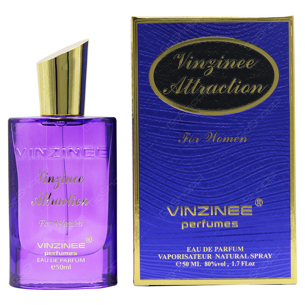 Vinzinee Perfumes Vinzinee Attraction For Women Eau De Parfum 50ml